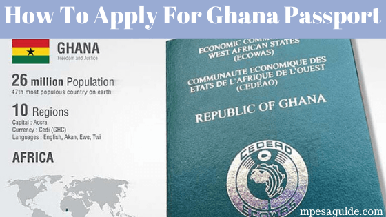 How to apply for Ghana passport online